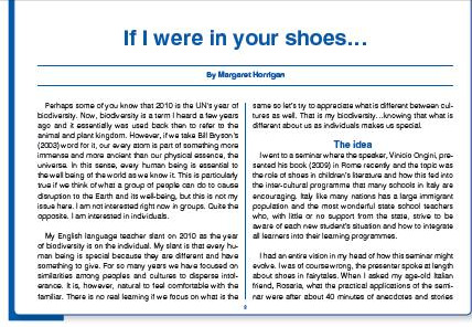 if i were in your shoes by margaret horrigan ih journal
