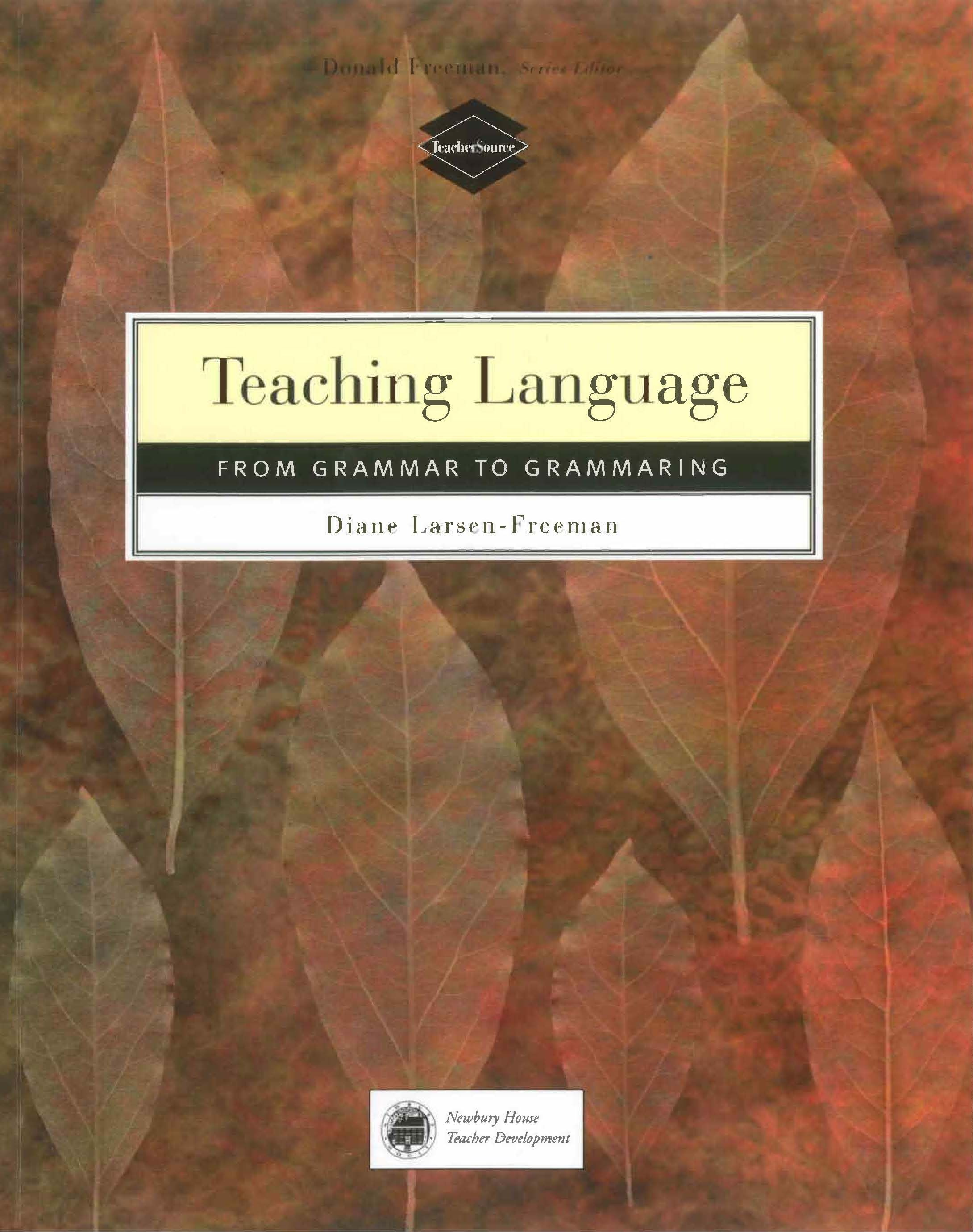 Картинки по запросу Teaching Language: From Grammar to Grammaring
